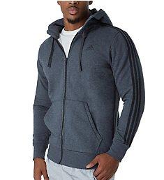 Adidas Essentials 3 Stripes Fleece Hoody B47368
