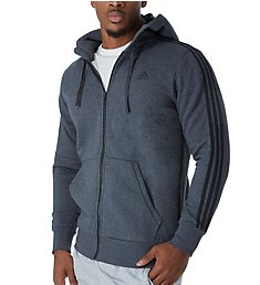 Adidas Essentials 3 Stripes Fleece Hoody B47368