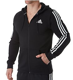 Adidas Athletics 3 Stripe Full Zip Hoodie DT9896