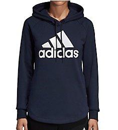 Adidas Long Sleeve Logo Pullover Hoodie DU0015