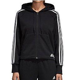 Adidas Long Sleeve Full Front Zip Hoodie DW9695