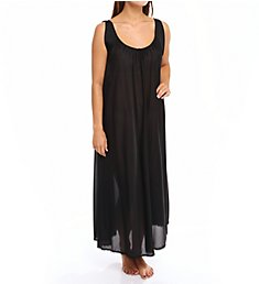 Amanda Rich Banded Sleeve Long Gown 103