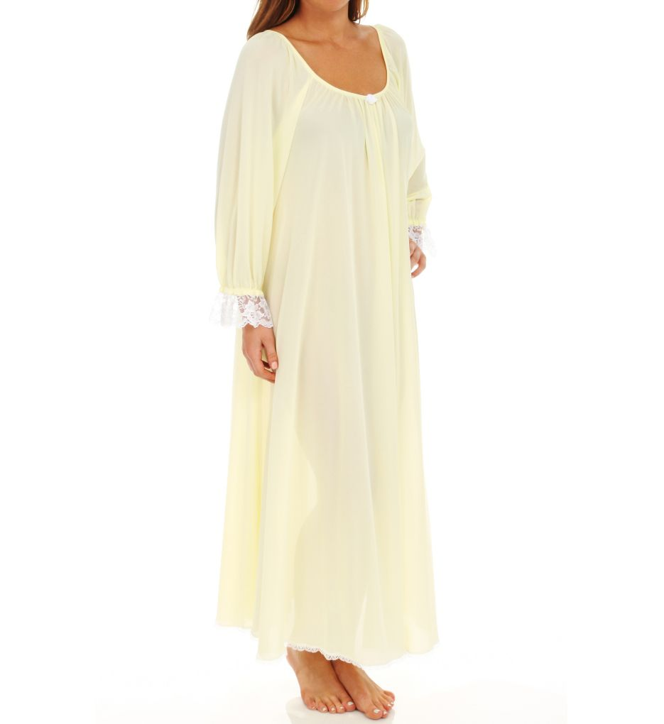 Amanda Rich Long Sleeve Long Gown 107