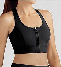 Amoena Zipper Front Medium Impact Sports Bra 44070