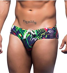 Andrew Christian Tropical Birds Swim Bikini Brief 7623