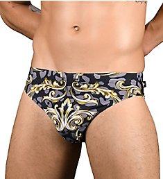 Andrew Christian Icon Print Bikini Swim Brief 7647
