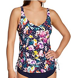 Anita French Blue Summer Malaika Tankini Swim Top 8866-1