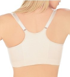 Annette Post Surgery Softcup Front Close Racerback Bra 10618