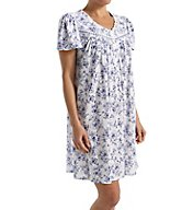 Aria Blues Short Sleeve Short Nightgown 8017727