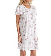 Aria Ditsy Cotton Short Sleeve Nightgown 8017776