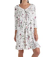 Aria Long Sleeve Short Nightgown 8017804