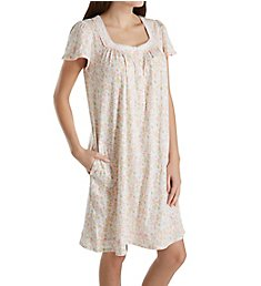 Aria Spring Short Sleeve Short Nightgown 8017836