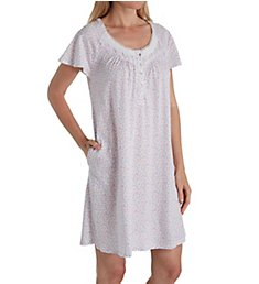 Aria Lavender Dream Short Sleeve Short Nightgown 8017847