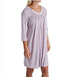 Aria Pink Passion 3/4 Sleeve Short Gown 8021943