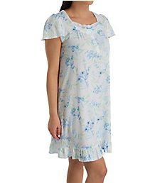 Aria Spring Breeze Short Sleeve Short Gown 8021968