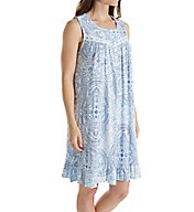 Aria Medallion Short Sleeveless Nightgown 8117788
