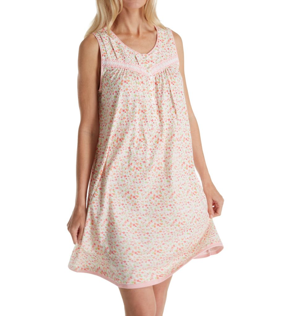 Aria Spring Sleeveless Short Nightgown 8317789