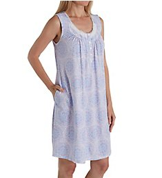 Aria Lavender Dream Sleeveless Short Nightgown 8317847