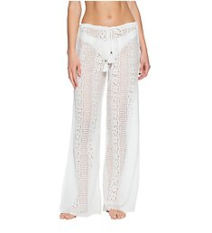 Becca Tried & True Sheer Lace Pant Swim Cover Up 3551071