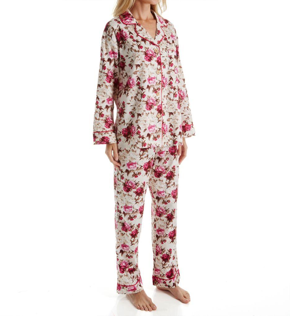 BedHead Pajamas Ashes Of Roses Long Sleeve PJ Set 5989