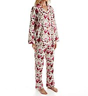 BedHead Pajamas Ashes Of Roses Long Sleeve PJ Set 5989