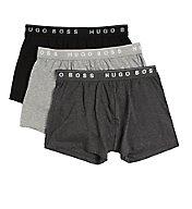 Boss Hugo Boss 100% Cotton Boxer Briefs 3 Inch Inseam - 3 Pack 0236732
