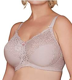 Bramour Chelsea Wireless Lace Bra 7003
