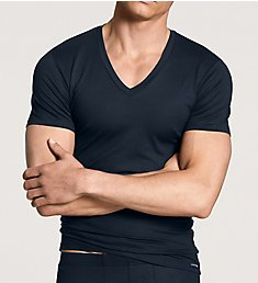 Calida Evolution Pima Cotton V-Neck T-Shirt 14317