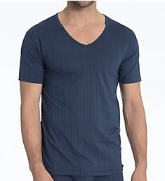 Calida Pure & Style Quick Dry Pima Cotton V-Neck T-Shirt 14986