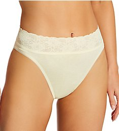 Calida Lycra Lace Hi Cut Brief Panties 21901