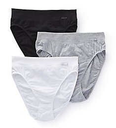 Calida Elastic Hi Cut Brief Panties - 3 Pack 22030PK