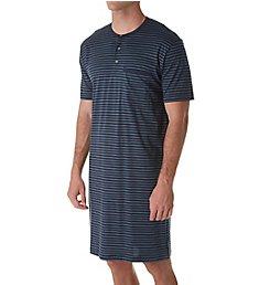 Calida Morris Button Down Cotton Night Shirt 31068