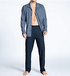 Calida Relax Imprint Button Down Pajama Set 40780
