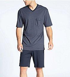 Calida Relax Streamline Pajama Short Set 41167