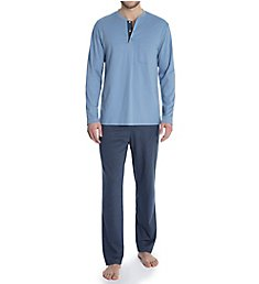 Calida Garry Comfort Fit Cotton Pajama Set 41184