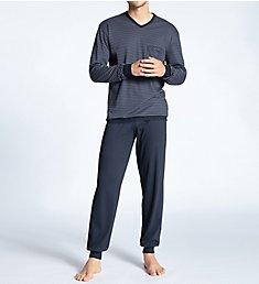 Calida Relax Streamline Pajama Jogger Set 41767