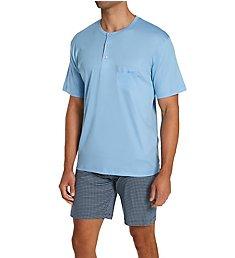 Calida Relax Choice Supima Cotton Pajama Short Set 41967