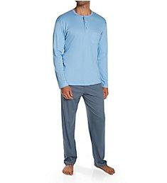 Calida Relax Choice Supima Cotton Pajama Pant Set 41968
