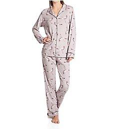 Calida Artisan Nights Long Sleeve Pajama Set 44323