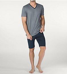 Calida Comfy Zone Micro Modal Pajama Short Set 48365