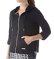 Calvin Klein Performance Crochet Pieced Hoody Jacket P6J4096