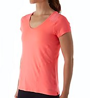 Calvin Klein Performance Short Sleeve Flow Jersey with Mesh Tee P6T0236