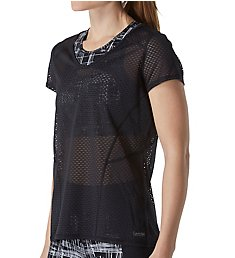 Calvin Klein Performance Short Sleeve Novelty Mesh Tee P6T0284