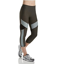 Calvin Klein Performance Colorblocked Compression Crop Legging P7P9209
