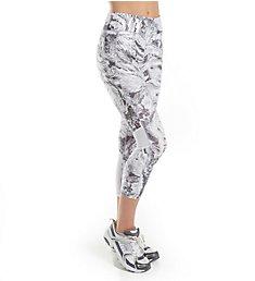 Calvin Klein Performance Midtown Print High Waist Crop Legging P7P9217