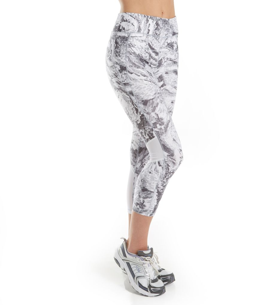 Calvin Klein Performance Midtown Print High Waist Crop Legging P7P9217