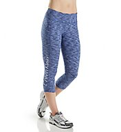Calvin Klein Performance Pop Spacedye Logo Crop Legging P7P9235