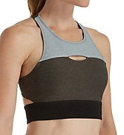 Calvin Klein Performance Scuba Front Cutout Back Sports Bra P7T2230