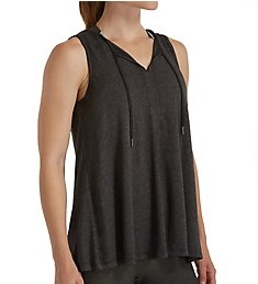 Calvin Klein Performance Icy Wash Tie Front Drapey Tank P7T2391