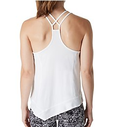 Calvin Klein Performance Asymmetric Hem Strappy Back Tank P7T2590